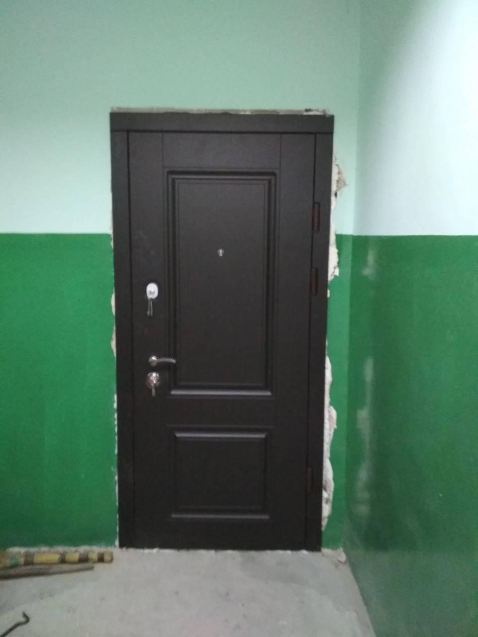 Установка входных дверей Киев
