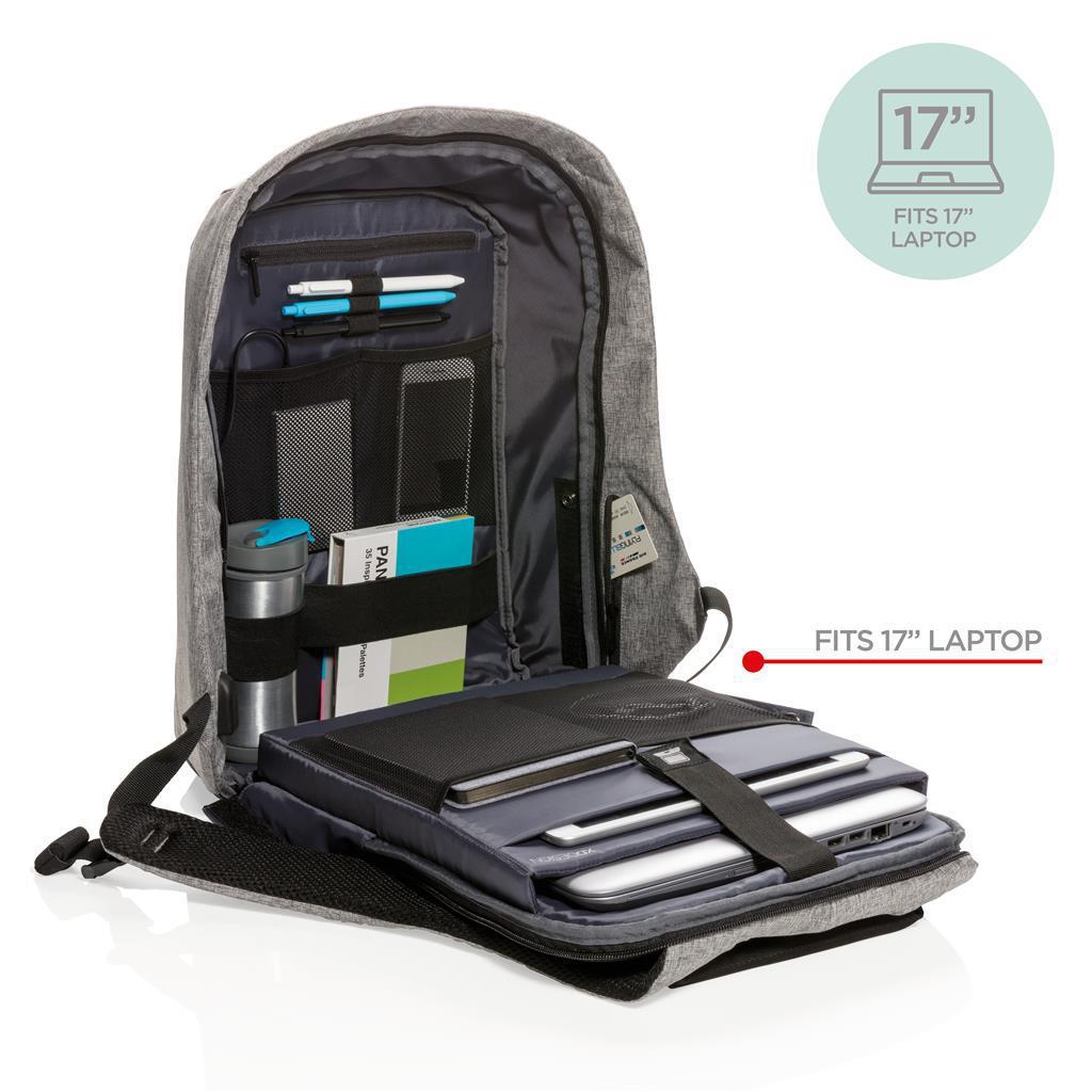 "Рюкзак для ноутбука 17"" XD Design Bobby XL. Оригинал, серый P705.562"