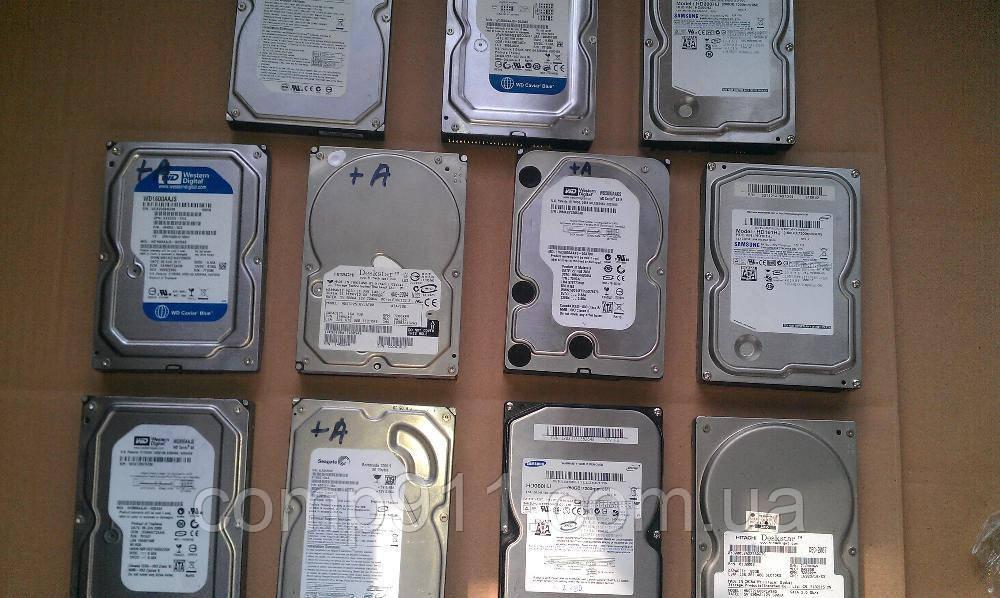 Жесткие диски для компьютера 40,80,120,160,250,320,500 ГигабайтIDE,Sata