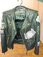 Женская кожаная куртка Ed Hardy XS