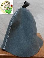 Шапка для бани Классика шерсть, фото 1