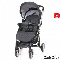 Детская прогулочная коляска 4Baby Atomic Dark Grey, фото 1