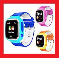 Smart Baby Watch Q80 Детские смарт часы с GPS трекером, фото 1