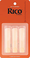 Трости для кларнета RICO Bb Clarinet #3.0 - 3 Pack
