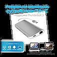 USB 3.1 Type-C ХАБ Corehub-C Silver, фото 4
