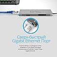 USB 3.1 Type-C ХАБ Corehub-C Silver, фото 6
