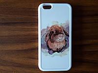 """Чехол на IPhone 6/6s с изображеним """"Кролик"""""""