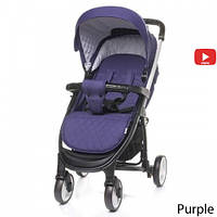 Детская прогулочная коляска 4Baby Atomic Purple, фото 1