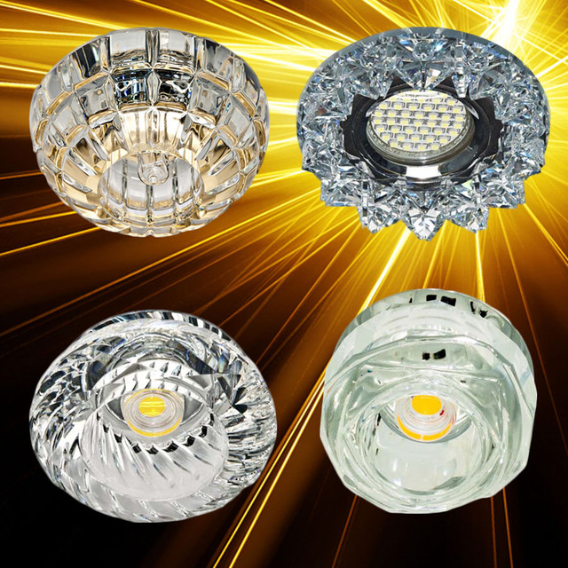 Точечные светильники LED