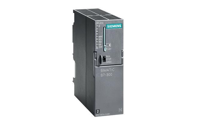 ЦПУ CPU 312, контроллер Siemens Simatic S7-300, 6ES7312-1AE14-0AB0