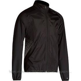 Куртка мужская велосипедная, ветрозащитная 500 Btwin черная