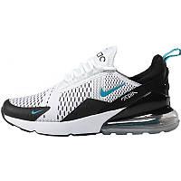 Кроссовки мужские Nike Air Max 270 черные - белые