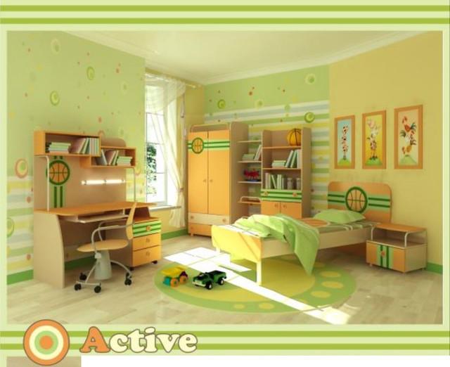 Детская комната Active (Интерьер модификация серии Баскетбольная)