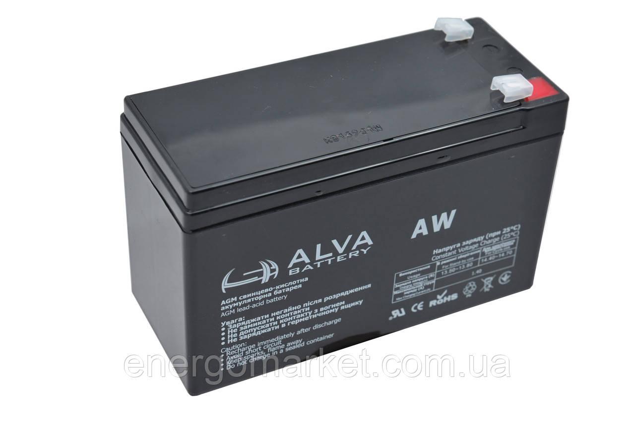 Аккумуляторная батарея ALVA AW6-12