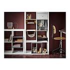 Вставка в полку IKEA KALLAX 33x33 см светло-серый 603.460.70, фото 3