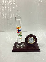Настольный гигрометр и термометр Галилея