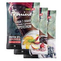 Power Pro Femine каша 3 злаки 30% protein 50 g