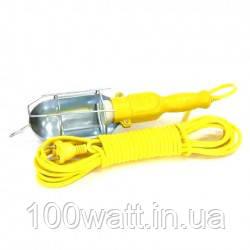 Светильник переноска 60w E27 220v 10м с выключателем GAV 54-2