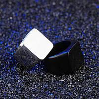 Мужское кольцо печатка из стали, р. 18, 19, 20, 20.7