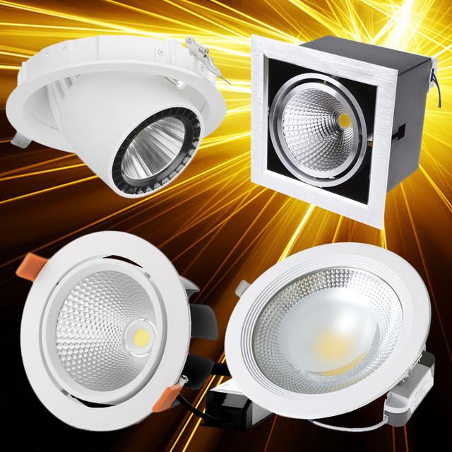 Даунлайты LED встраиваемые