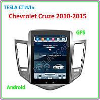 Автомагнитола Chevrolet Cruze 2010-2015 тесла стиль 10,4, фото 1