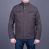 Чоловіча куртка (вітровка) темно-синього кольору., фото 8