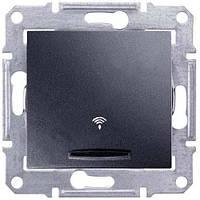 Кнопка звонка с подсветкой Sedna Schneider Графит, SDN1600470