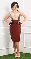 Платье Мода-Юрс-2377 белорусский трикотаж