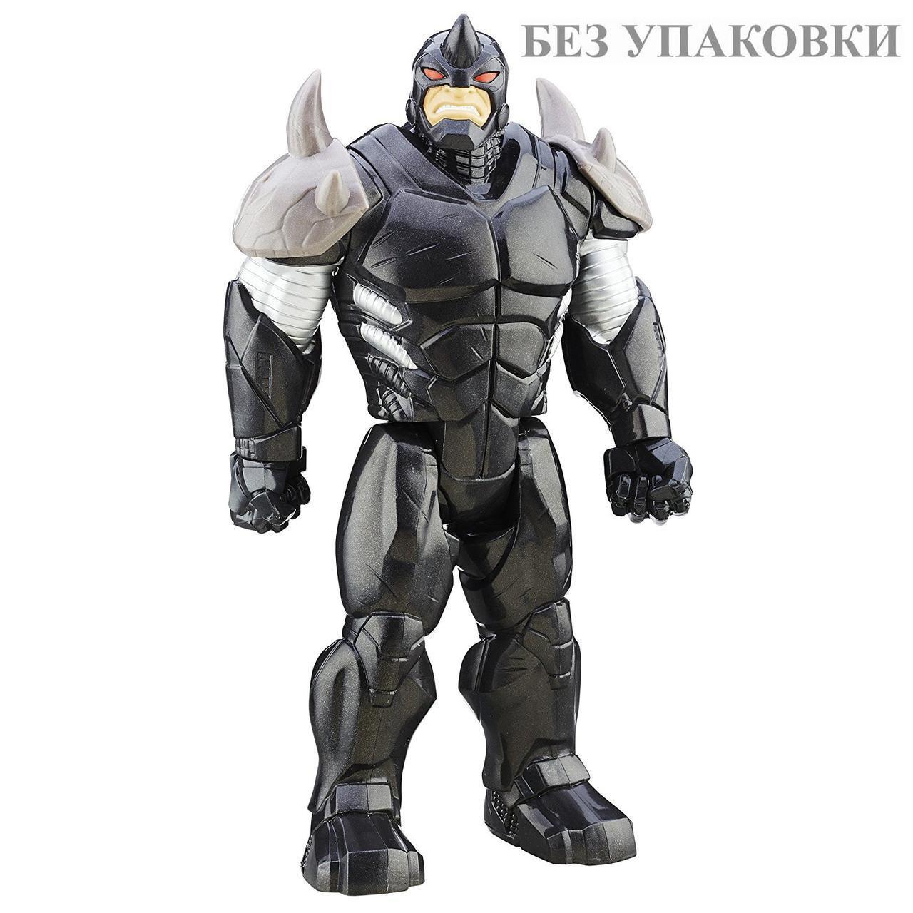 "Фигурка Носорог высота 30см ""Зловещая Шестерка"" - Rhino, Sinister6, Titans, Hasbro"