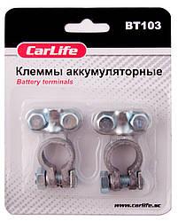Клеммы АКБ свинцовые CarLife BT 103
