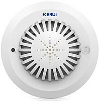 Датчик дыма KERUI KR-SD03 для GSM сигнализации 433 MHz