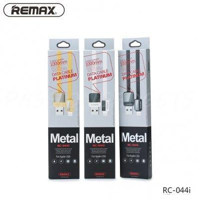Кабель USB Remax RC-044i Lightning 1m чорний для iPhone