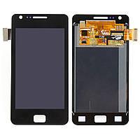 Дисплей модуль Samsung I9105 Galaxy S2 Plus в зборі з тачскріном синій