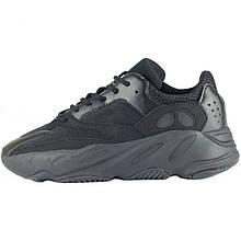 Кросівки чоловічі Adidas Yeezy Boost 700 Wave Runner (чорні) Top replic