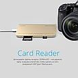 USB 3.1 Type-C ХАБ Corehub-C Gold, фото 6