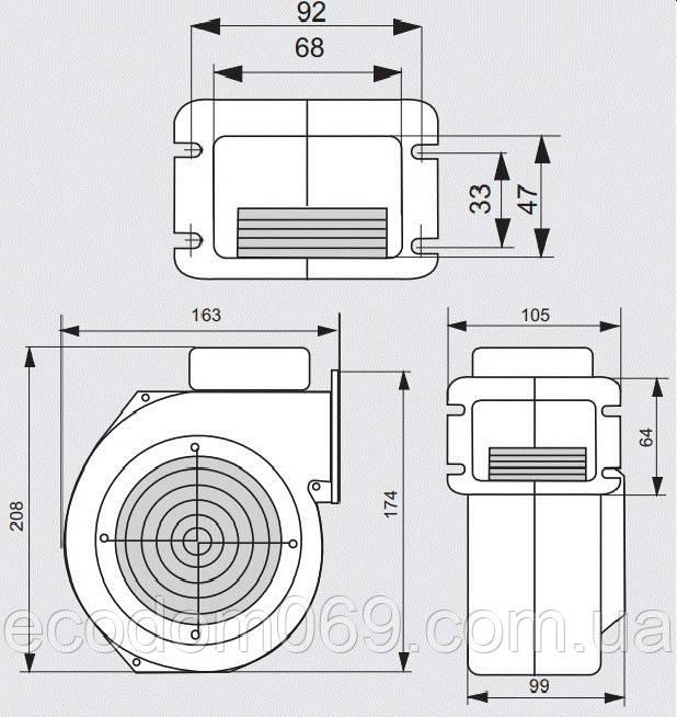 Автоматика Еко комфорт + Турбина XPA 06