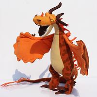 Мягкая плюшевая игрушка Дракон Кривоклык 70 см. Как приручить дракона , фото 1