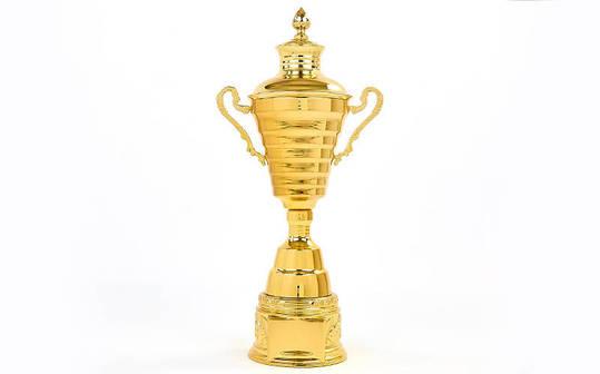 Кубок спортивный с ручками и крышкой JOY XB107C, фото 2