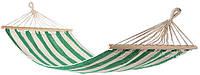 Гамак-Ткань с деревянными перекладинами 80х200 см хлопок