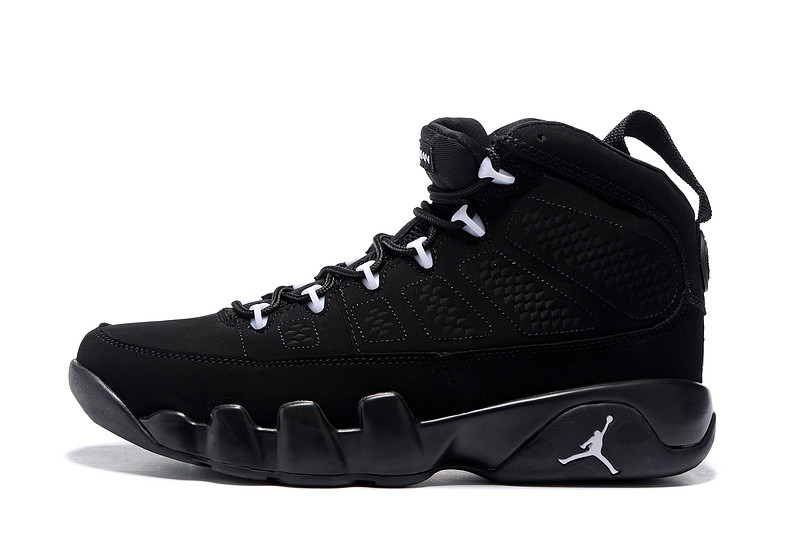 Кроссовки Air Jordan 9 Black (Джордан 9, Реплика) 45 — в Категории