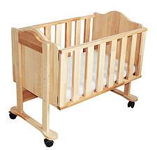 Приставная кроватка TM Mobler, фото 2