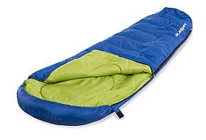 Спальный мешок - мумия Acamper 250 гм2 сине-зеленый