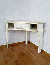 """Белый туалетный столик с банкеткой """"Дарина"""", фото 2"""
