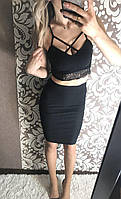 Костюм юбка+топ, фото 1