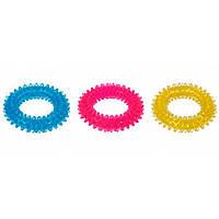 Karlie-Flamingo Good4Fun Spike Ring КАРЛИ-ФЛАМИНГО ГУД ФО ФАН игрушка для собак кольцо с шипами, резина (12,7 см)