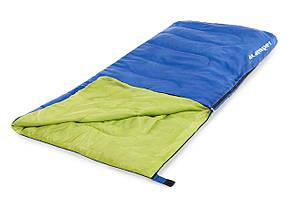 Спальный мешок - одеяло Acamper 250 гм2 сине-зеленый
