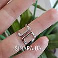 Серебряное кольцо на фалангу, фото 4