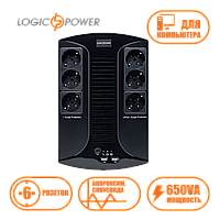 Линейно-интерактивный ИБП LP 650VA-6PS
