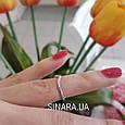 Серебряное кольцо на фалангу, фото 3