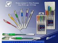 """Набор гелевый Ручка""""J.Otten Prem""""в футл-подст.6цв.глит."""